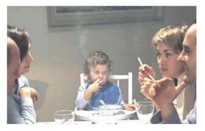 Fumar pasivamente